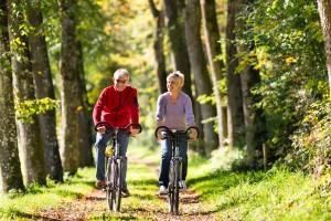 Römerroute Fahrradweg in der Nähe vom Hotel in Lippstadt Senioren