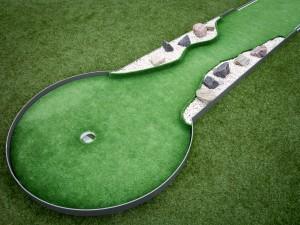 Minigolfbahn Beispielbild