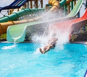Spaßbad Lippstadt mit Wasserrutsche im Schwimmbad Lippstadt und Umgebung