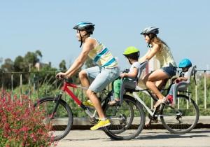 Fahrrad fahren mit der Familie - familienfreundlich Radlerunterkünfte in der Nähe finden