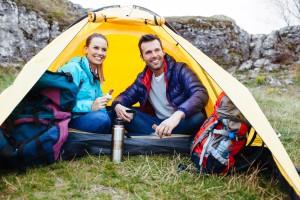 Camping- Zelten in der Natur Lippstadts