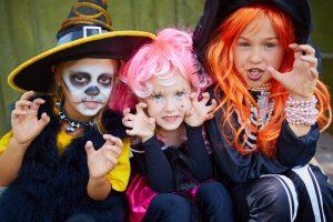 Halloween - Grusel auch für kleine Gäste