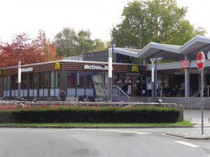 McDonalds und mehr direkt am Bahnhof Lippstadt - Unterkünfte in der Nähe