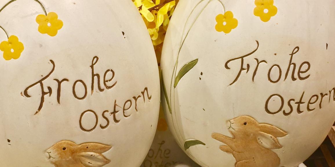 Die Agentur für Zimmervermittlung wünscht frohe Ostern!
