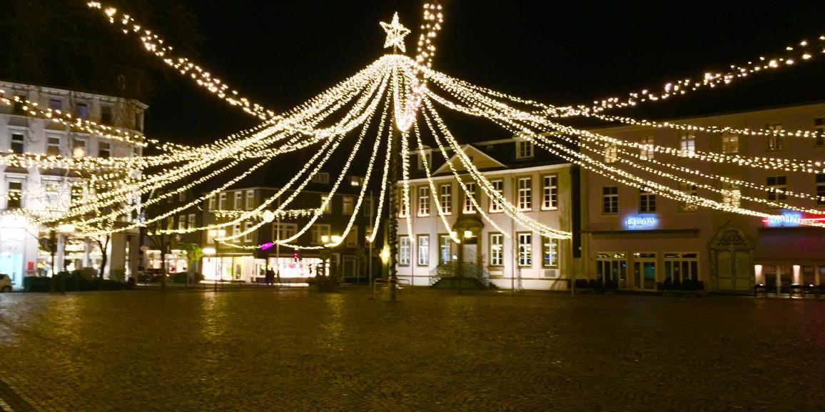 Weihnachtsmarkt als touristische Attraktion in Lippstadt
