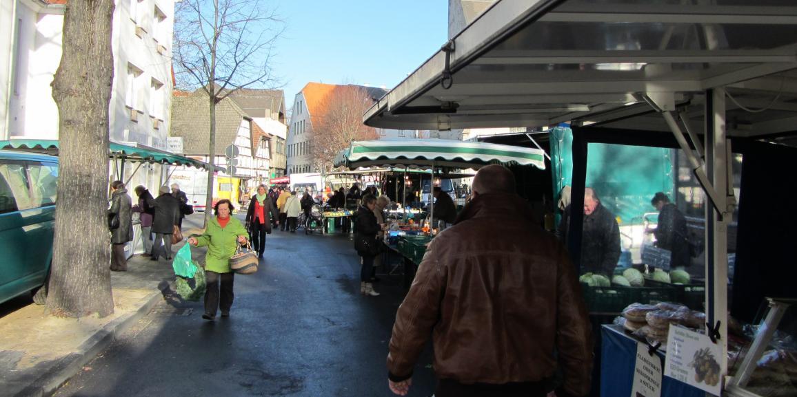 Markt in Lippstadt – Krammarkt, Wochenmarkt und mehr