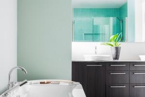 Ferienwohnungen Delbrück- Beispiel Badezimmer