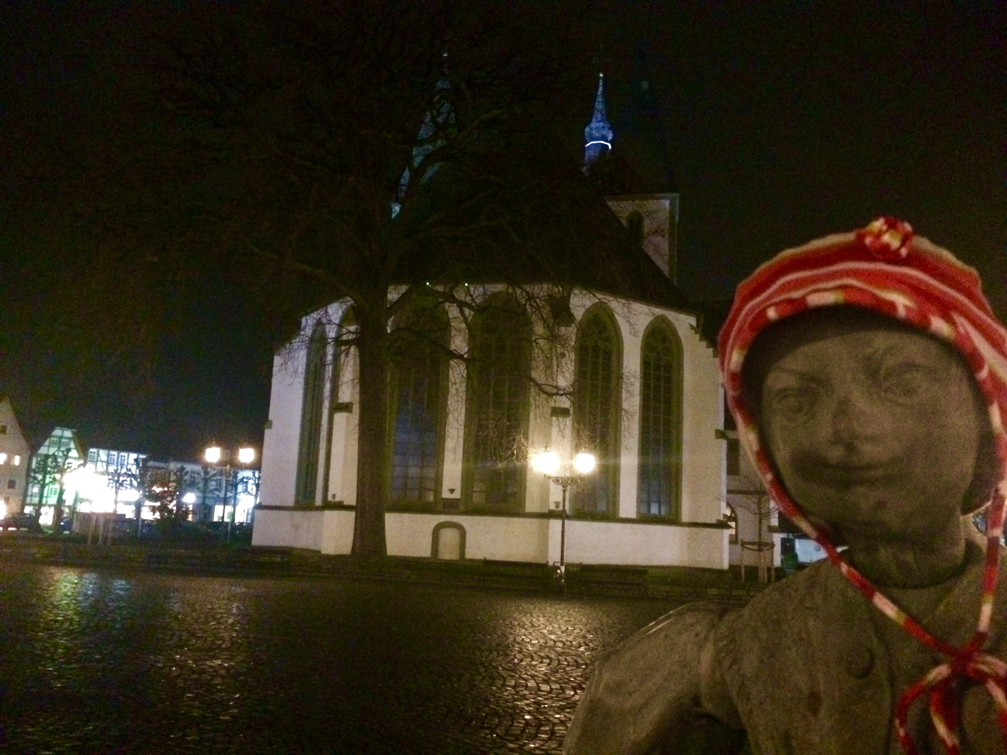 erster Advent- Abends am Bürgerbrunnen Lippstadt