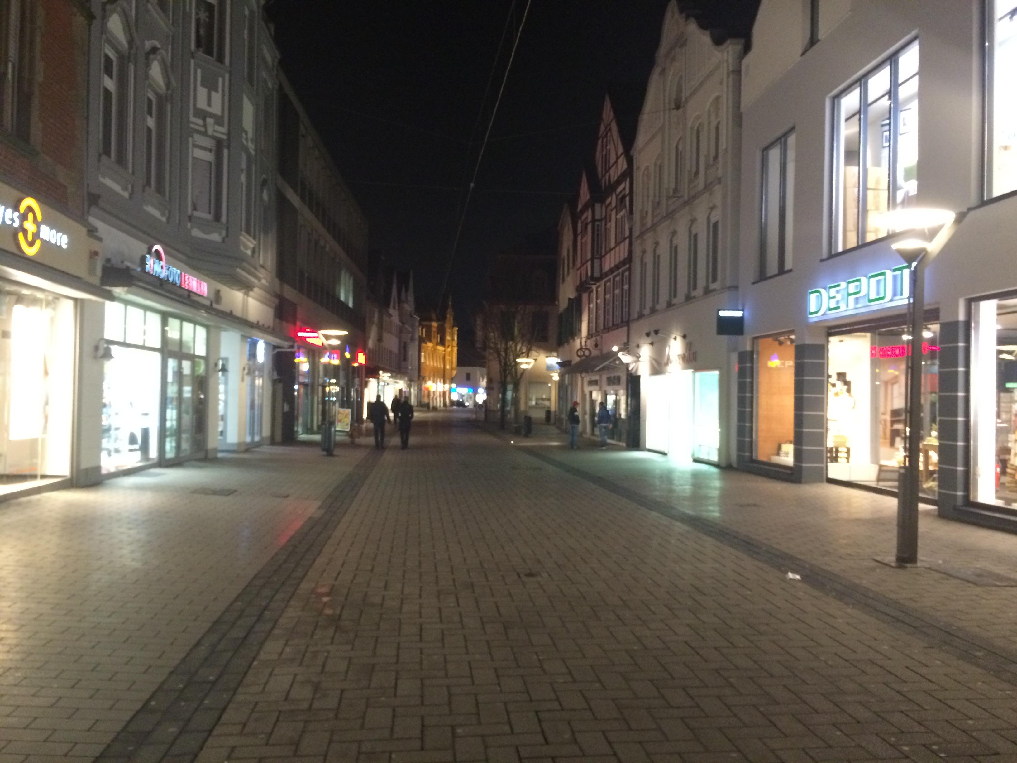 Lippstadt im Winter- weihnachtliches Musical im Theater