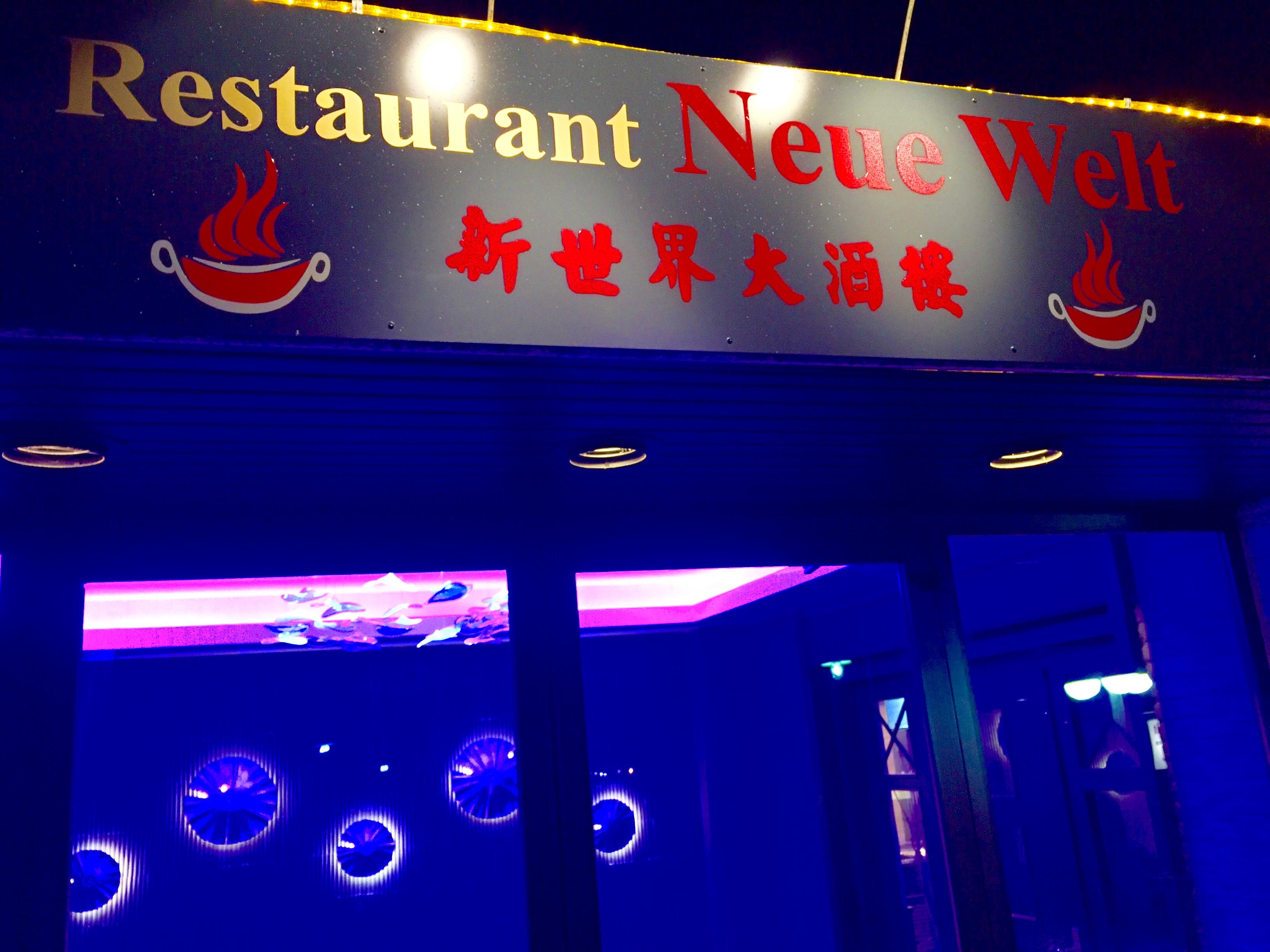 Eröffnung chinesisches Restaurant Neue Welt Bad Waldliesborn
